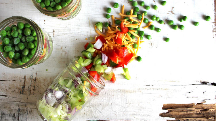 Foodtrend: Salad in a Jar